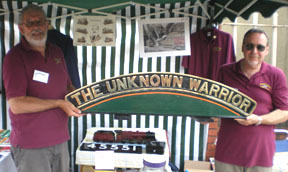 The Unknown Warrior Nameplate