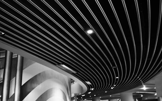Leading lines icc birmingham black white study