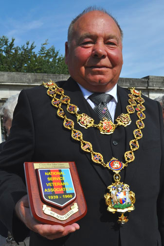 Lord Mayor of Birmingham Councillor John Lines