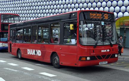 Buses At Bullring Birmingham