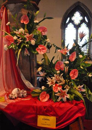 St Edburgha S Yardley Old Church Flower Festival 2011