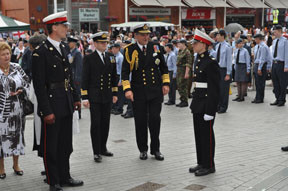 Armed forces salute band arrangement